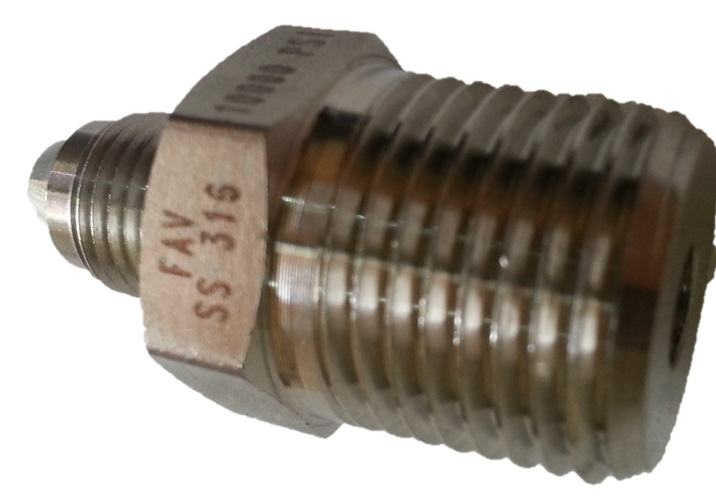 Fav autoclave male npt and female adapters for high