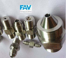 FAV Autoclave Male X NPT Male and Female Adapters for High