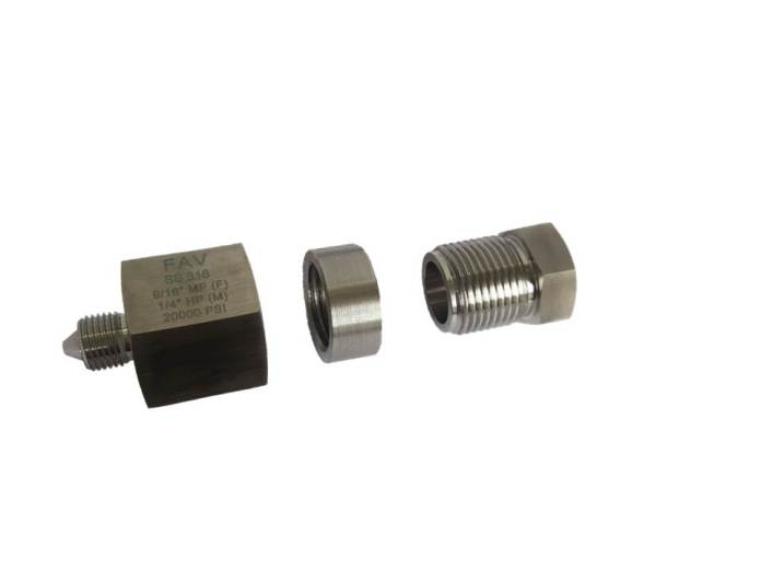 Autoclave fittings adapters high pressure from